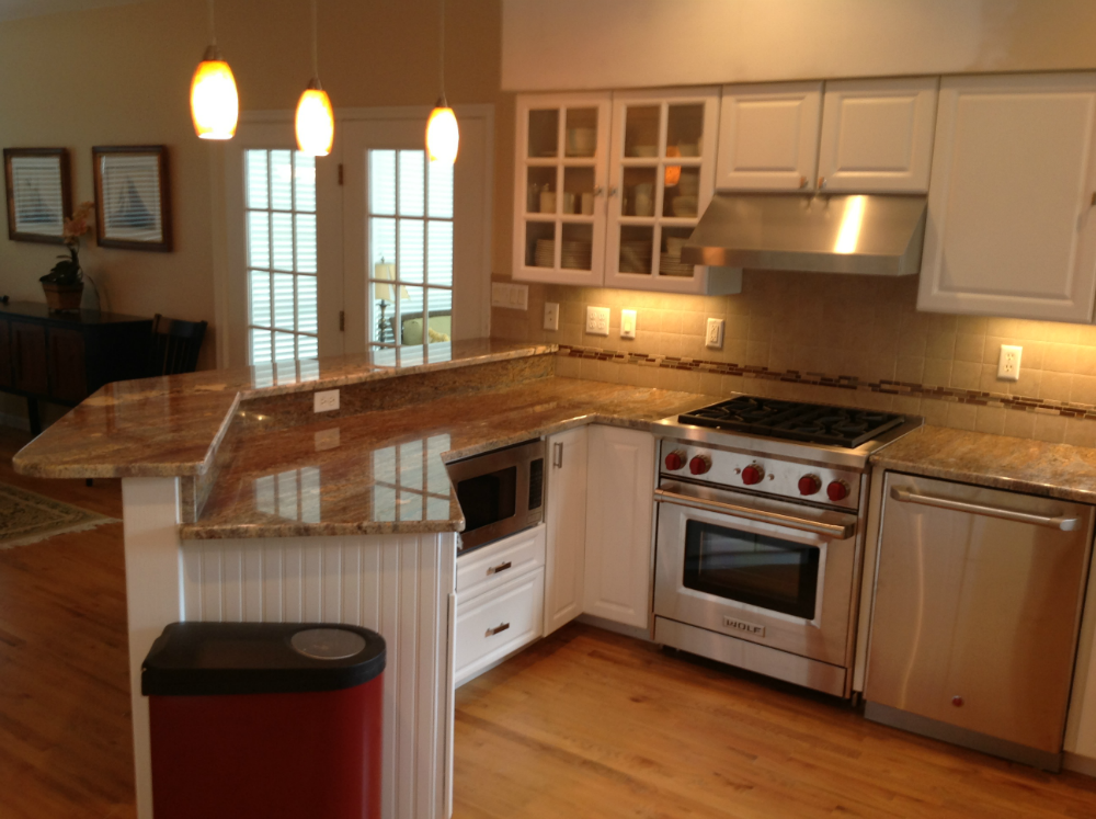 Kitchen Remodel With Granite Artistic Renovations Ocean City Md Home Building Remodeling